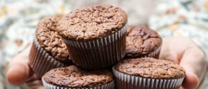Muffin al cocco e cacao