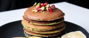 Pancake ai pistacchi