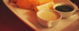 Salsa per il pesce spada arrostito