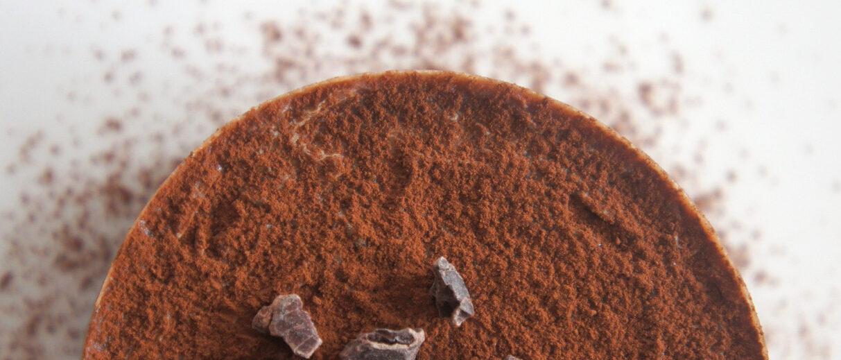 Torta al cocco e cioccolato senza glutine e senza uova